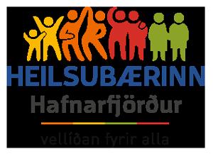Heilsubærinn Hafnarfjörður merki
